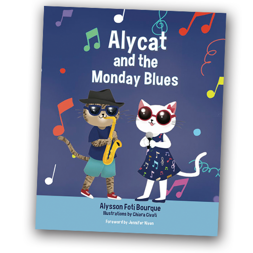 Alycat and the Monday Blues, Alysson Foti Bourque