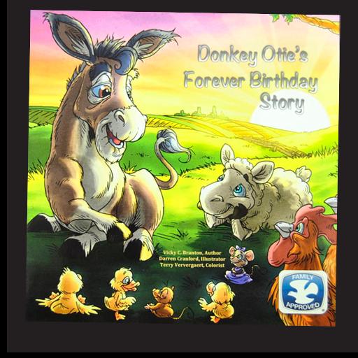 Donkey Otie's Forever Birthday Story, Vicly C. Branton