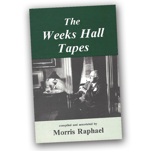 The Weeks Hall Tapes - Raphael Morris