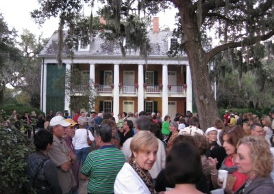 Beneath the Balconies crowd shot 2 2010-Bayou Teche Museum FB