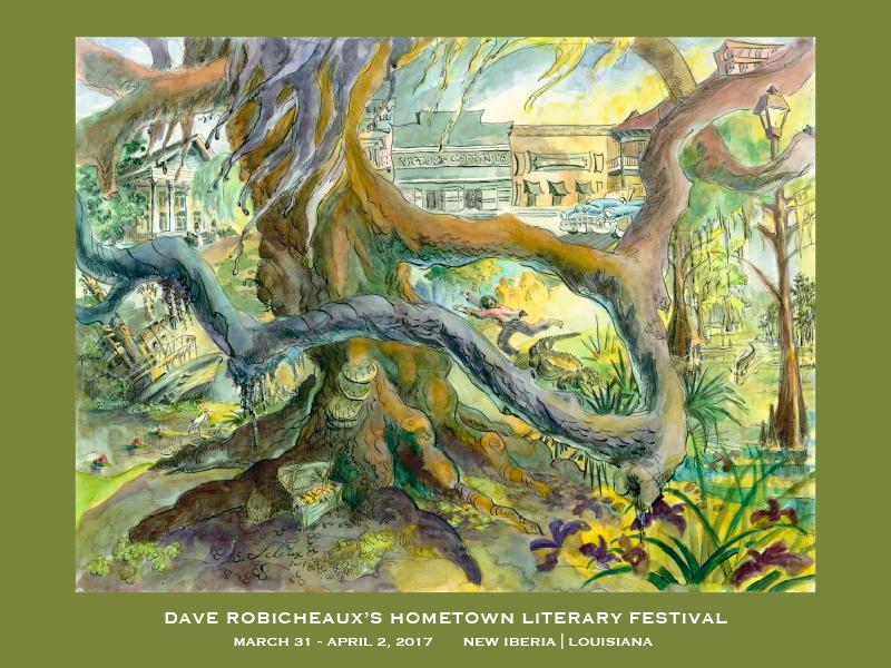 Dave Robicheaux Festival Poster
